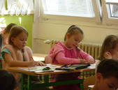 Návštěva 1. tříd ZŠ Hovorčovická - únor 2020